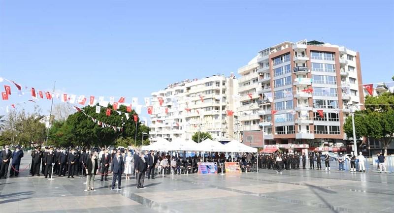 Antalya'da 19 Eylül Gaziler Günü Kutlandı